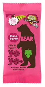 Bear Fruit Snack Raspberry 20g