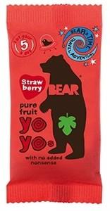 Yo Yo Fruit Rolls Single Strawberry 20g