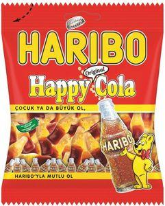 Haribo Gummy Candies Happy Cola 3x80g