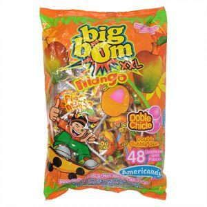 Big Bom Lollipop Mango Xl 48x25g