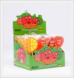 Decoria Jelly Fruit Shape Lollipop 23g