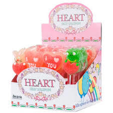Decoria Jelly Heart Lollipop 23g