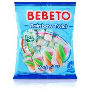 Bebeto Marshmallow Rainbow Twist 190g