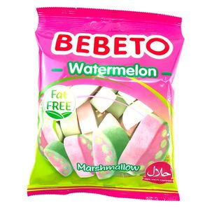 Bebeto Marshmallow Watermelon 60g