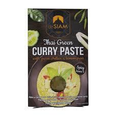 De Siam Curry Paste Green 70g