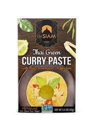 De Siam Curry Paste Thai Yellow 70g