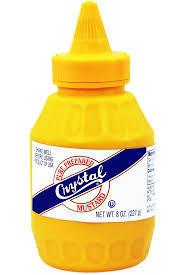 Crystal Sauce Mustard 8oz