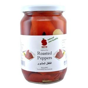 Sava Pickle Red Fillet Pepper 720ml