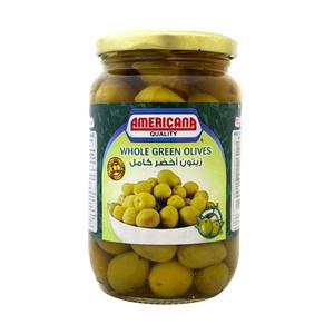 Americana Whole Olives Green 335g