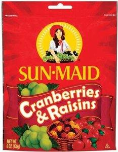 Sunmaid Raisins Cranberry 6oz