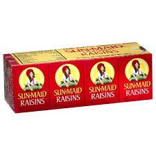 Sunmaid Raisins 12x14g