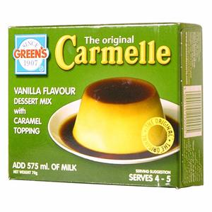 Green's Creme Caramel With Toppings 70g