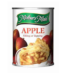 Mother's Maid Pie Filling Apple 21oz