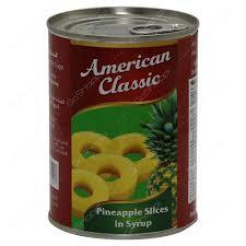 American Classic Pineapple Sliced 30oz