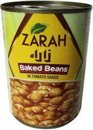 Zarah Canned Baked Beans In Tomato Sauce 400g