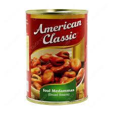 American Classic Foul Medammas Broad Beans 397g
