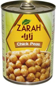 Zarah Canned Peas Chick 400g