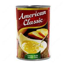 American Classic Sweet Corn Cream Style 425g