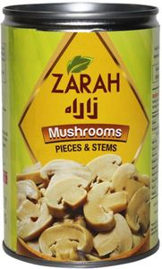 Zarah Canned Mushroom Pieces And Stem 400g