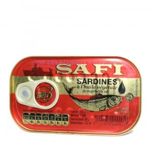 Safi Sardines In Vegetable Oil Spicy 125g
