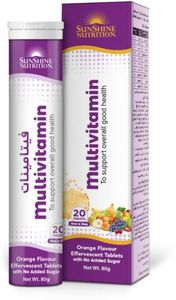 Sunshine Nutrition Multivitamin 20s