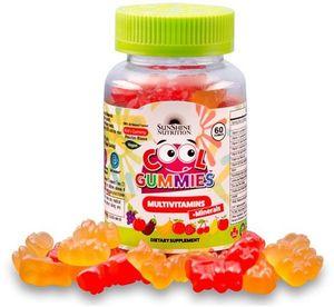 Sunshine Nutrition Cool Gummies Vegan Multivitamins 60s