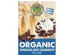 Organic Larder Chocolate Cluster Crunchy 375g
