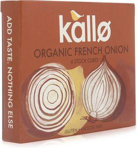 Kallo Stock Cubes French Onion Organic 66g