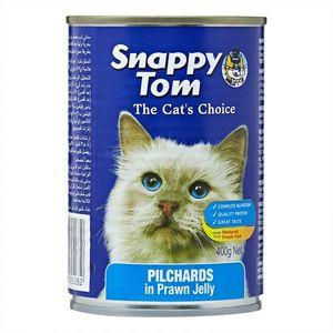 Snappy Tom Cat Food Pichards In Prawn Jelly 400g