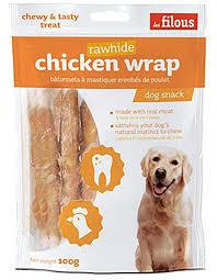 Les Filous Chicken Wrap 100g