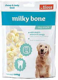 Les Filous Milky Bone 100g