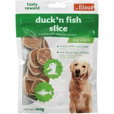 Les Filous Duck N Fish Slice 100g