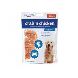 Les Filous Crab N Chicken 100g