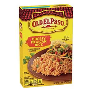 Old El Paso Cheesy Mexican Rice 215g