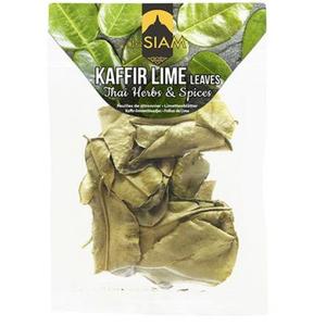 De Siam Dried Kaffir Lime Leaves 3g