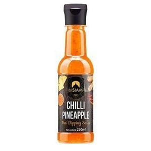 De Siam Thai Sauce Pineapple And Chilli 250ml