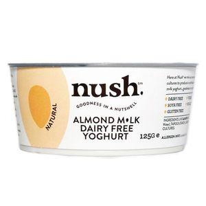 Nush Organic Almond Milk Yoghurt Dairy Free Gluten Free Vegan 120g