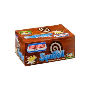Americana Cake Super Roll Chocolate 60g