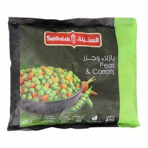 Sunbulah Peas & Carrots 450g