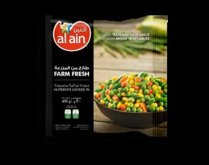 Al Ain Mixed Vegetables 2x400g