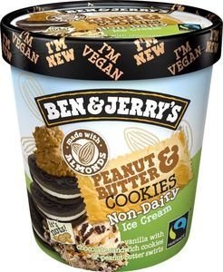 Ben & Jerry's Peanut Butter Non Dairy Ice Cream 500ml