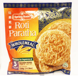 Spring Home Roti Paratha Whole Meal 320g