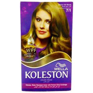 Wella Hair Color 7/1 Medium Ash Blonde 110ml