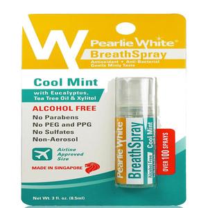 Pearlie White Breath Spray Cool Mint 8.5ml