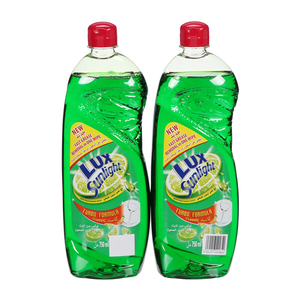 Lux Dishwashing Liquid Regular 2x750ml