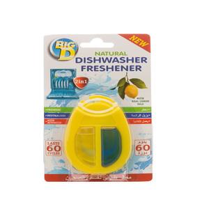 Big D Dishwasher Freshener Lemon Zest 1s