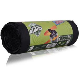 Bacti Guard Garbage Bag Black 75 Cmx103 Cm 10s