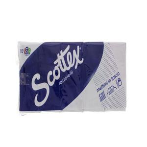 Scottex Pocket Tissue 4 Ply 10s