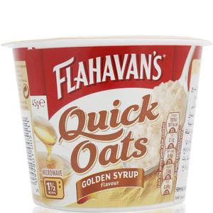 Flahavan's Quick Oats Golden Syrup 45g
