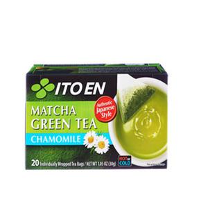 Itoen Tea Bags Matcha Green Chamomile 30g